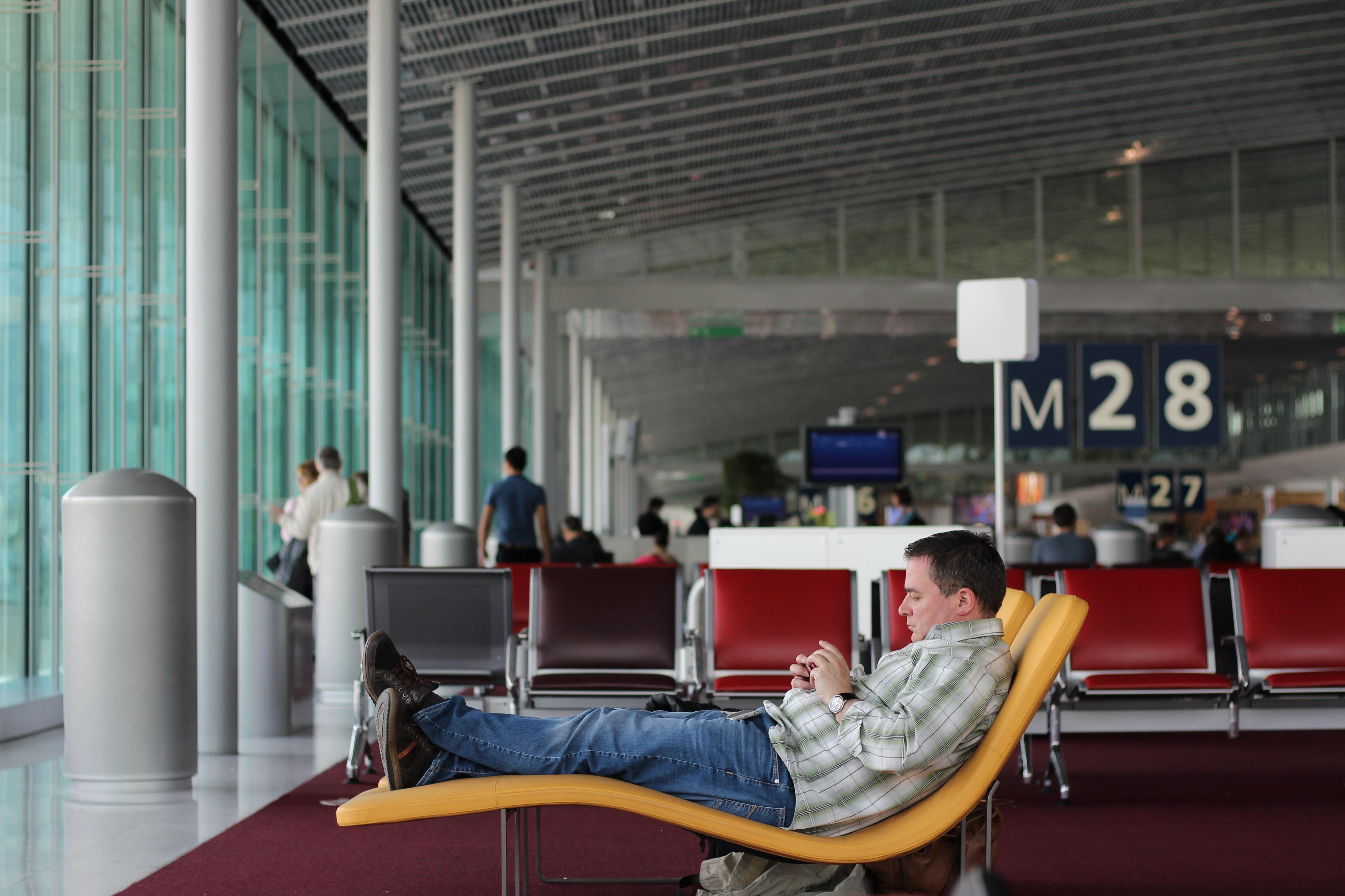 Airport customer