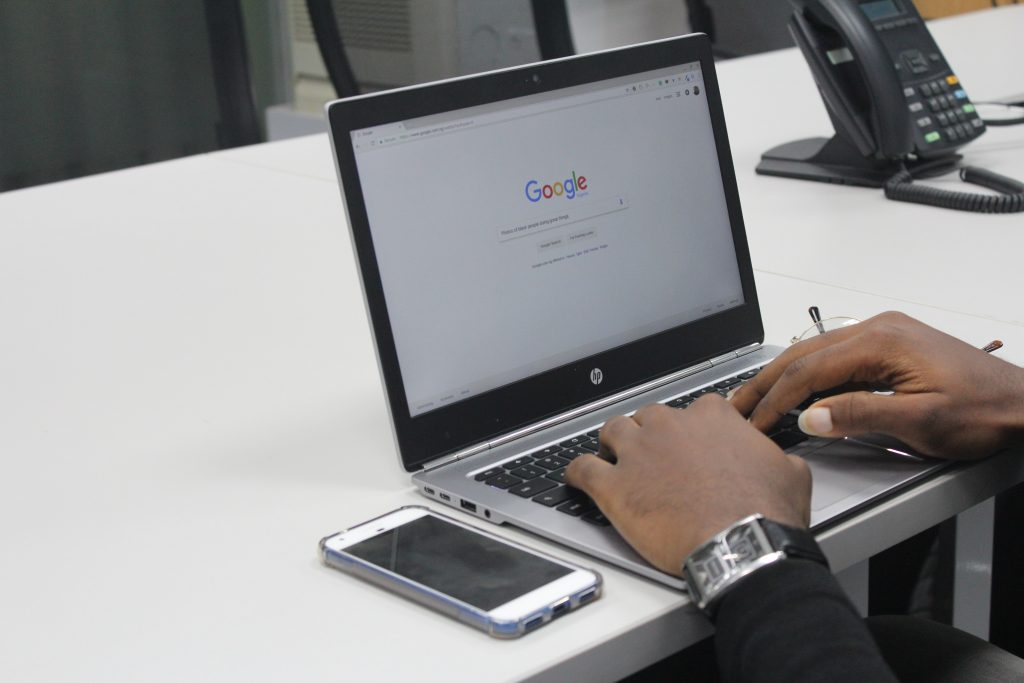 Google search keyword tool Photo by Benjamin Dada